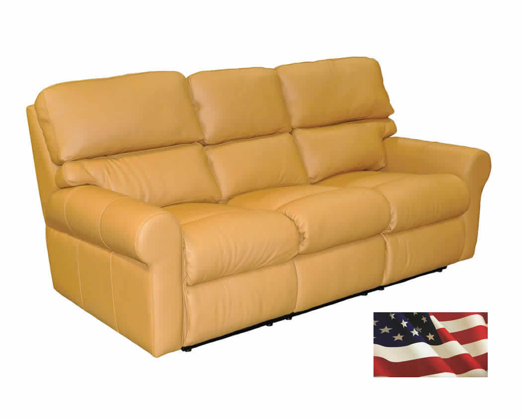 Beseated Reclining Leather Sofas Genuine Reclining
