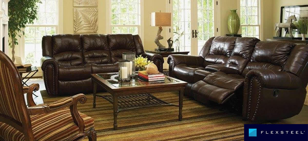 Flexsteel Reclining Leather Sofas ...