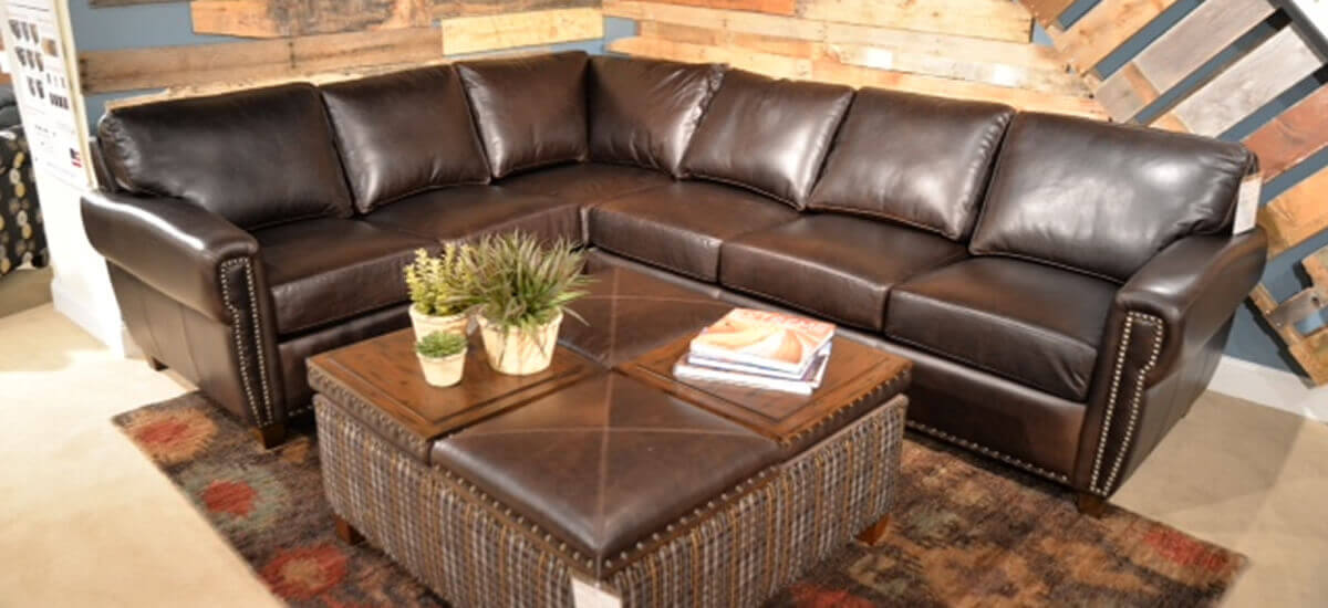 leather sofa sectionals