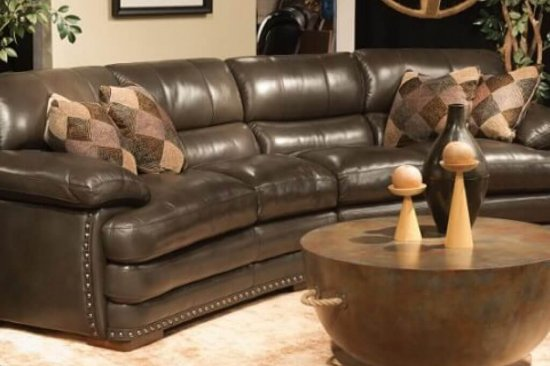 Flexsteel-leather-sofas-sectionals-Michigan