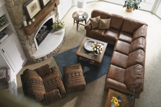 Cabin-cozy-leather-furniture-sectional-sofa