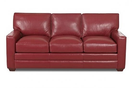 Red-top-grain-leather-sofas-Rochester-novi-Birmingham-Michigan