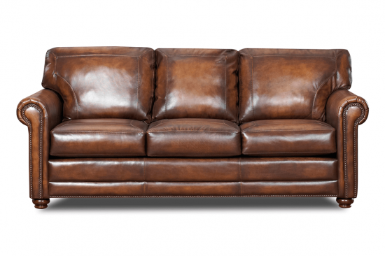 brown-traditional-leather-sofas-nail-heads