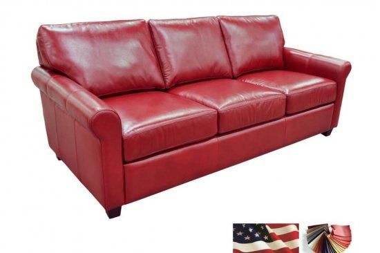 custom leather sofas on sale
