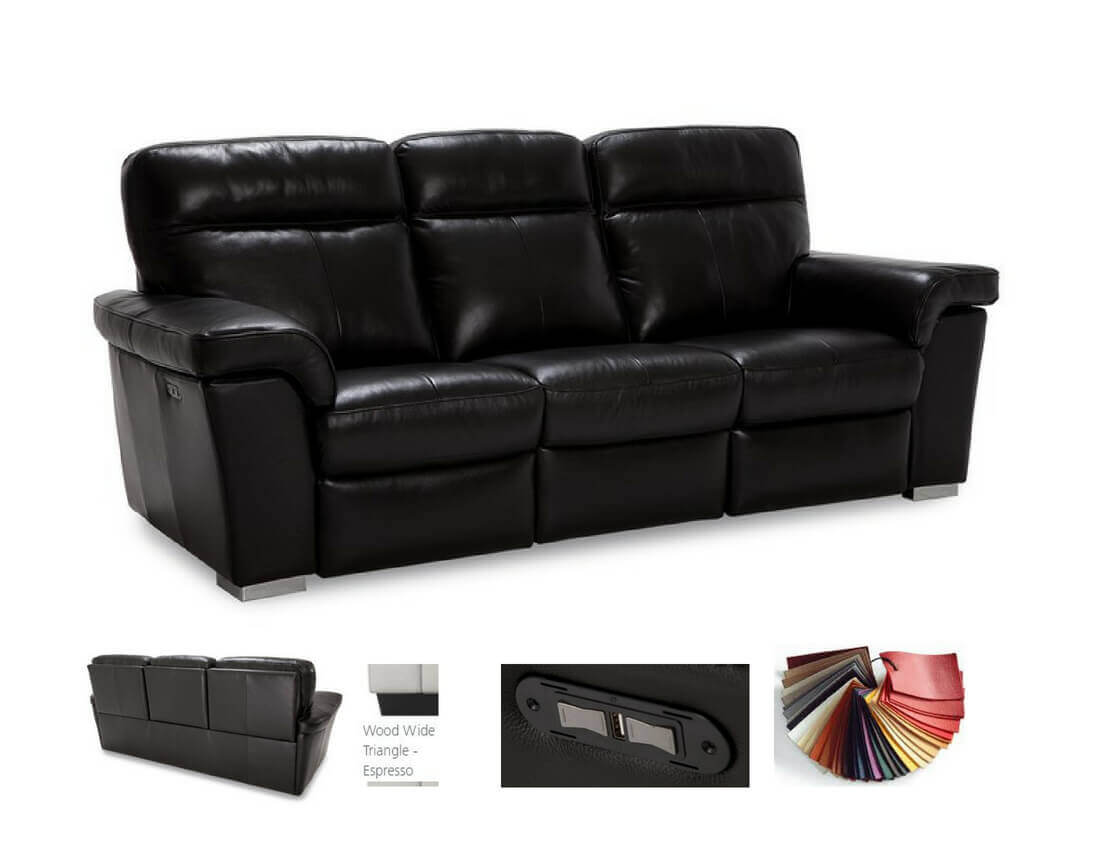 hybrid-contemporary-leather-reclining-sofa-loveseat-recliner ...