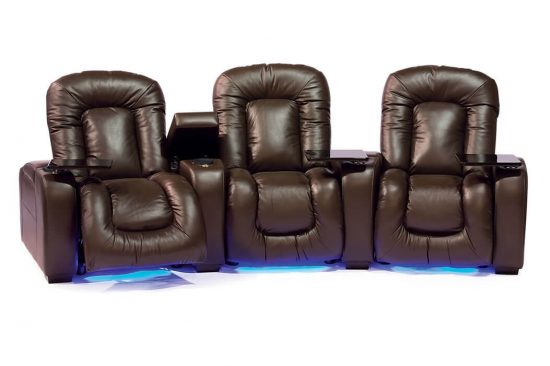 home theater seats with lights,storage and power