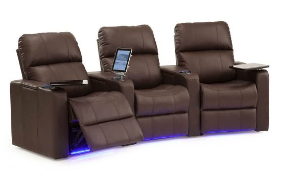 leather seats with cup holdersand lights