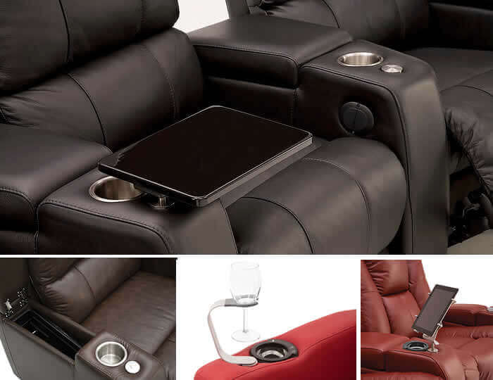 Theater Seating Accessories & Options