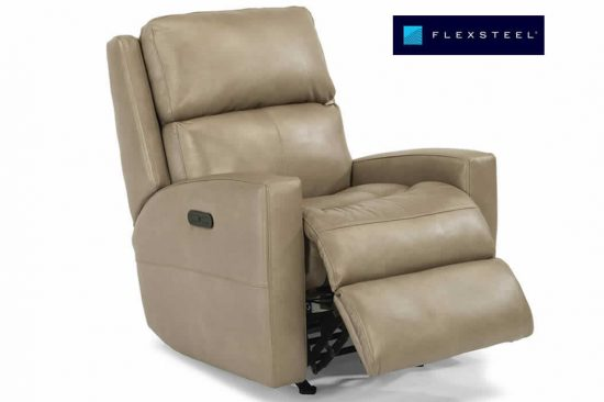 flexsteel-leather-recliner-metro-Detroit-swivel-power-rocker