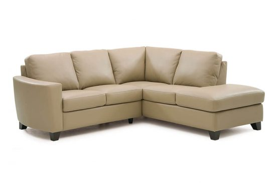 small leather sectionals