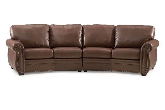 traditional-leather-sectionals