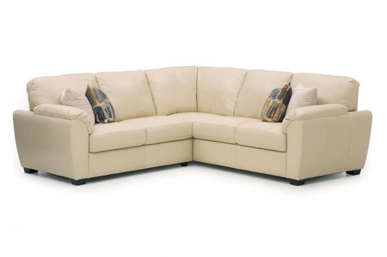 L-shaped-small-leather-sectionals