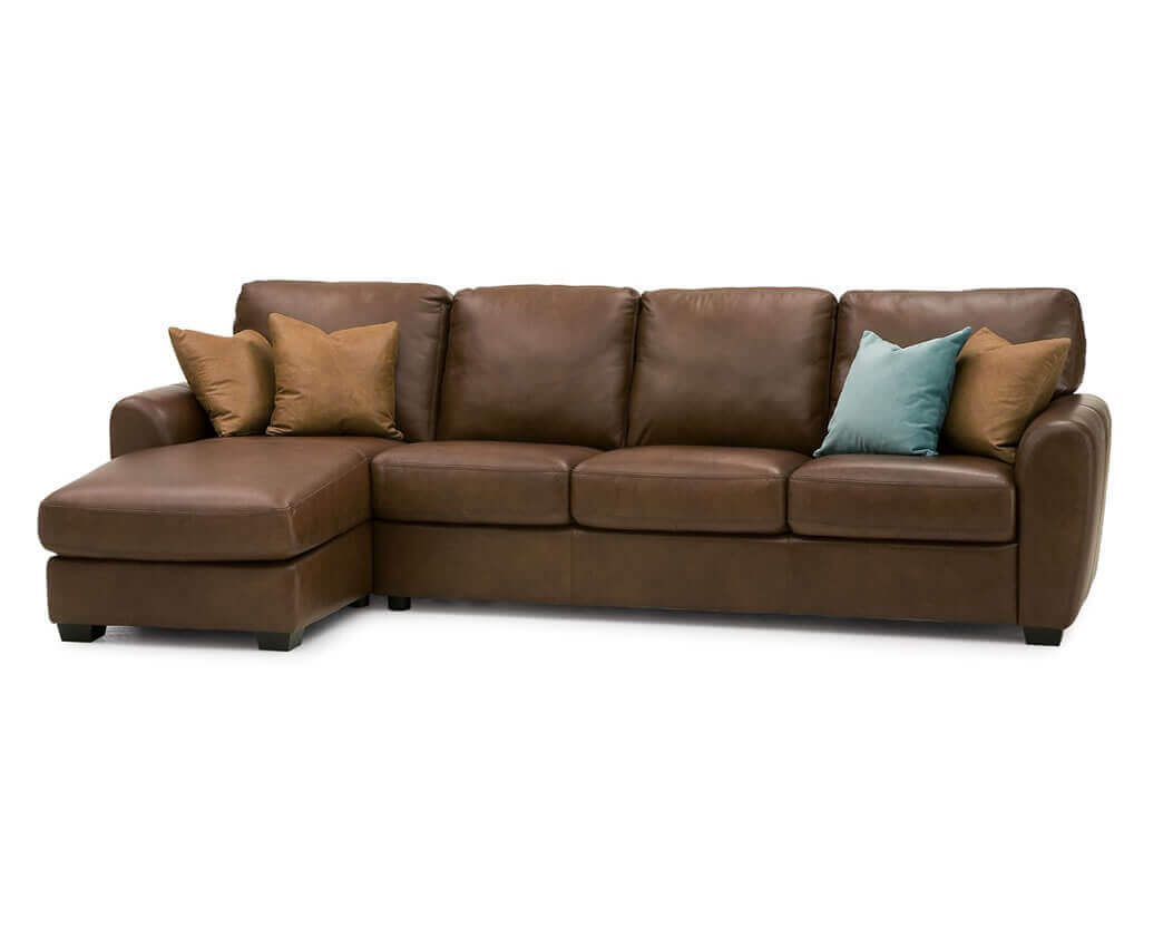 Leather sectionals be seated leather furniture for Furniture unlimited