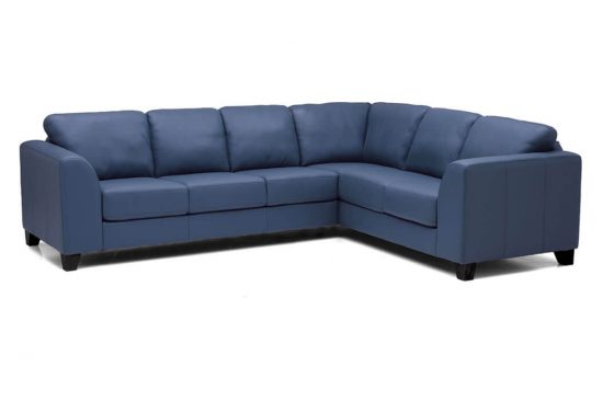Blue-leather-sectionals-metro-Detroit