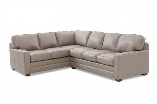 grey leather sectionals