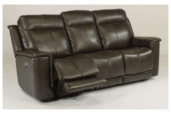 flexsteel-leather-power-reclining-sofa-loveseat-headrest