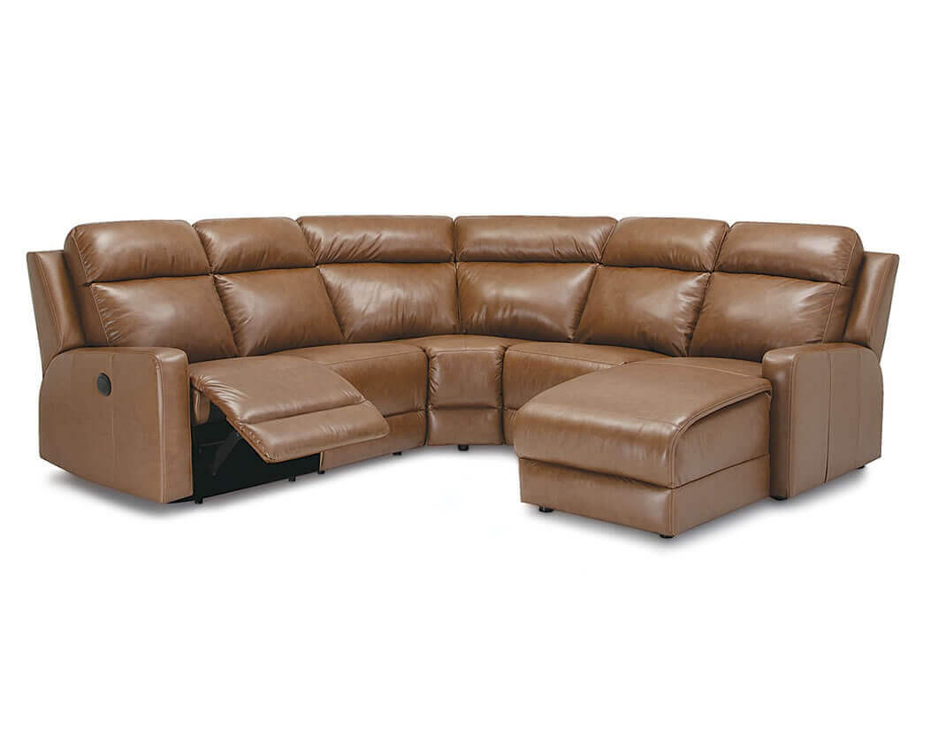 reclining leather sectionals be seated leather furniture. Black Bedroom Furniture Sets. Home Design Ideas
