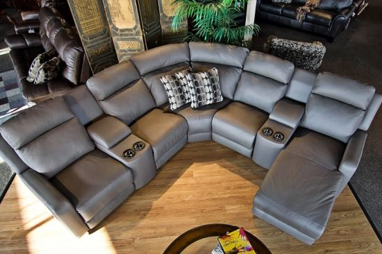 contemporary-leather-reclining-leather-sectionals