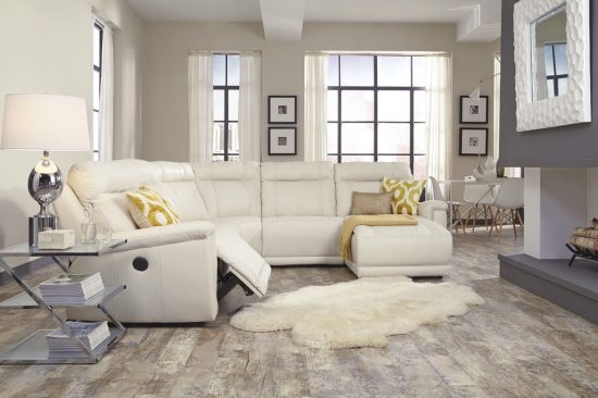 Ivory-white-leather-reclining-sectionals-sofas-best