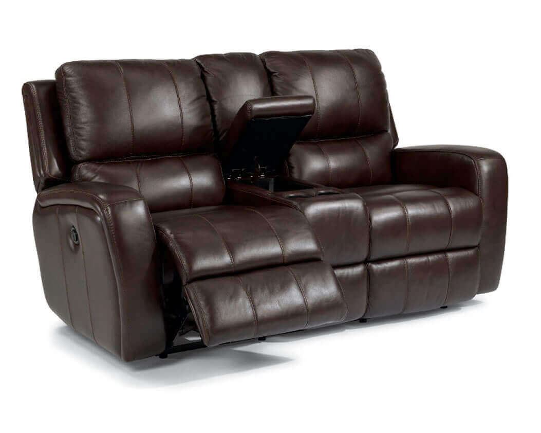 Reclining leather sofas michigan 39 s best be seated leather furniture Reclining loveseat sale