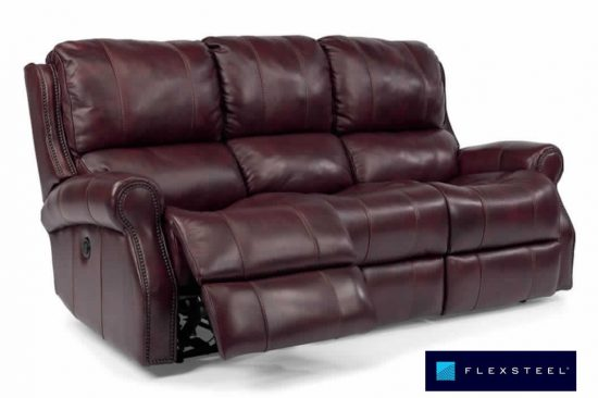 burgundy-leather-reclining-couches-michigan