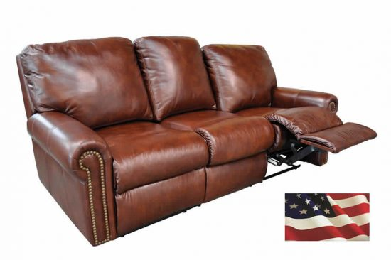 made in america power reclining sofa