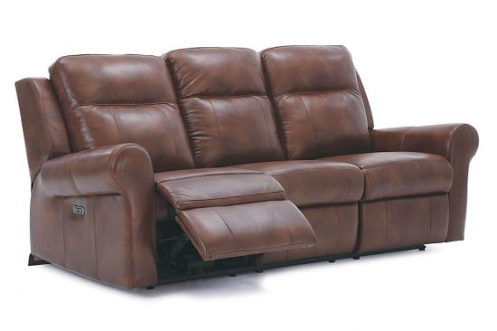 leather power headrest reclining sofas