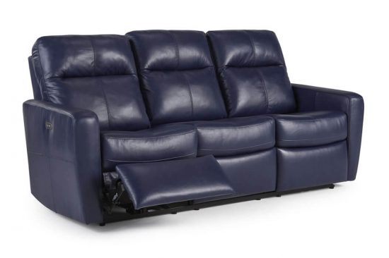 contemporary leather reclining sofas