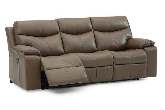 grey leather reclining sofas