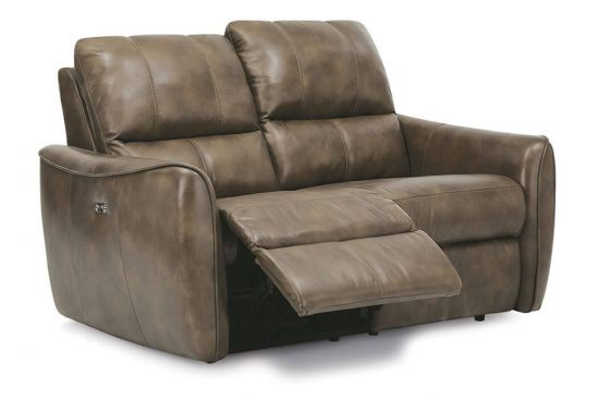 leather reclining love seats
