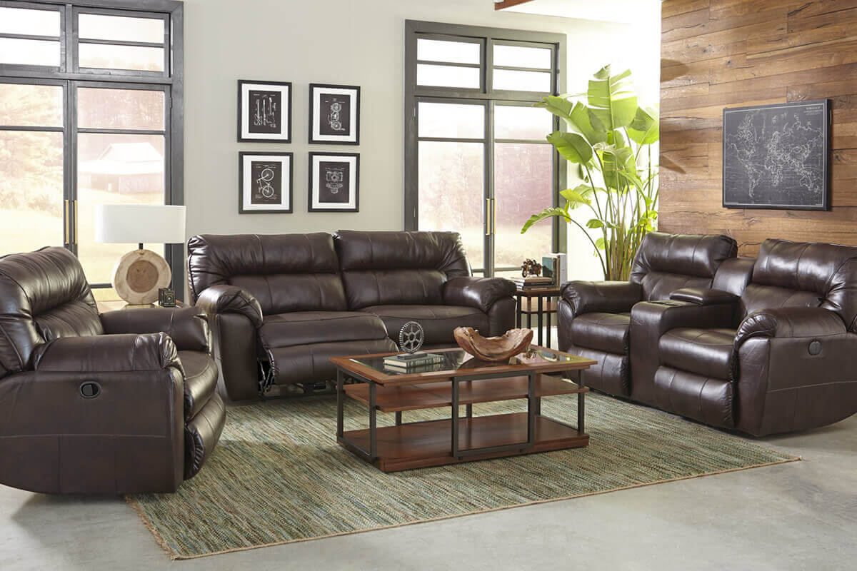 Reclining leather sofas michigans best be seated leather cuddler collection parisarafo Gallery