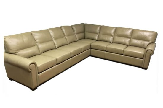 leather sectionals in your choice of colors