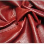 Red-natural-leather-full grain