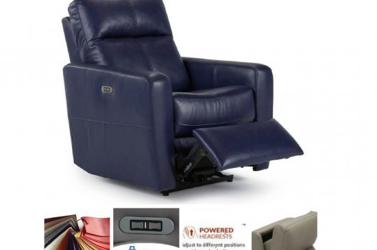 Power-leather-recliner-blue-black-brown-grey-tan
