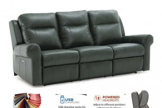 Custom-colors-leather-reclining-sofas-Michigan-best-quality