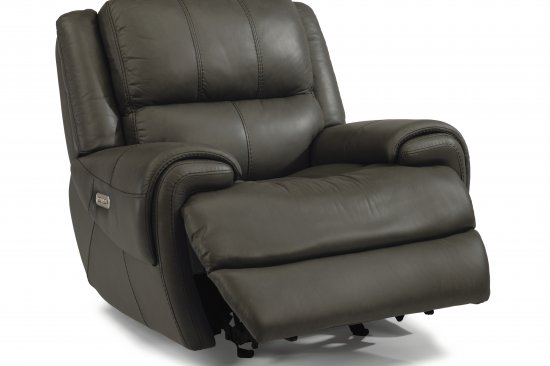 flexsteel-genuine-leather-power-recliners-Michigan-