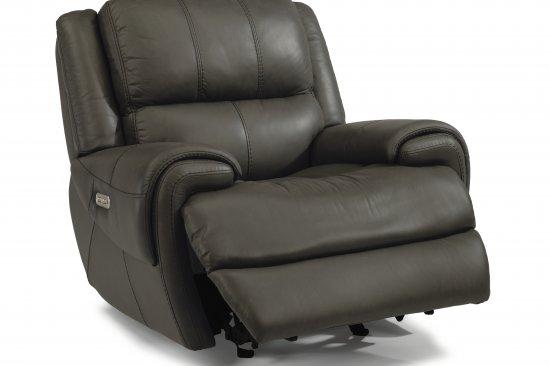 flexsteel-genuine-leather-power-recliners-Michigan-