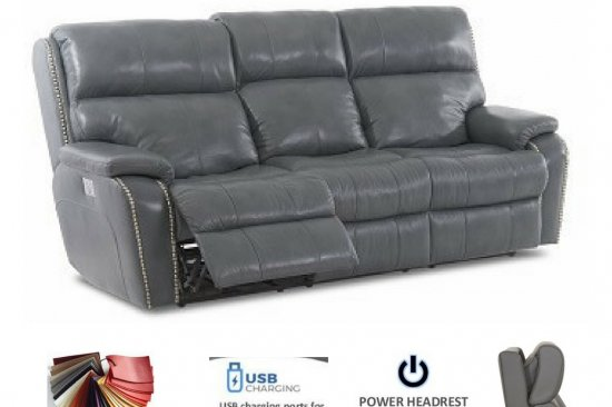 grey-reclining-leather-sofa-power-headrest-lumbar-nailhead-1