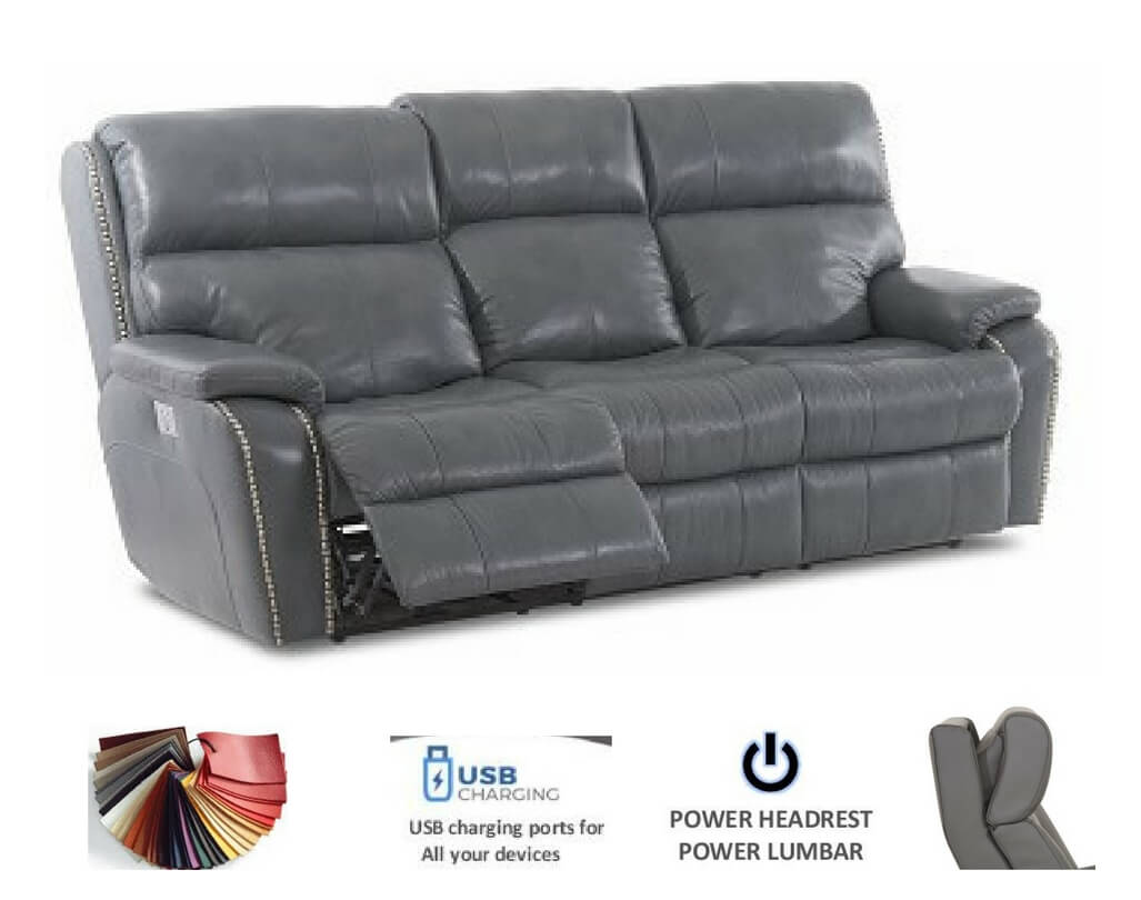 Reclining Leather Sofas | Michigan\'s Best | Be Seated Leather Furniture