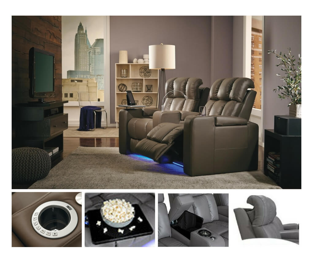 Best-leather-home-theater-seating-power-headrest-reclining