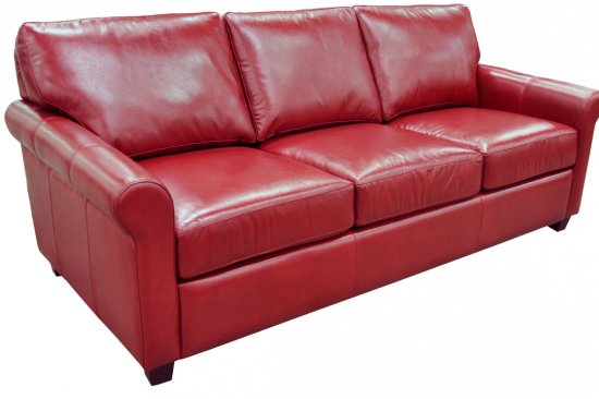 Red-blue-orange-green-leather-sofa-michigan