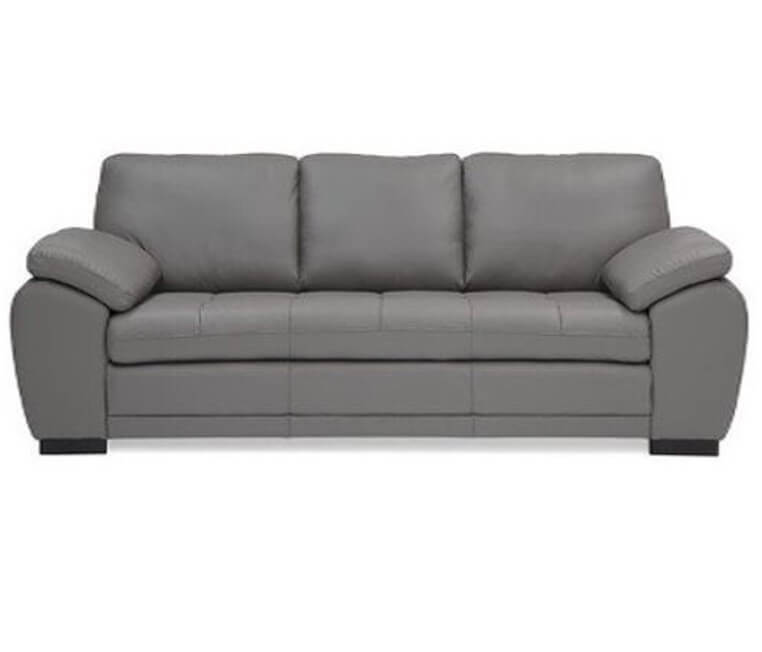 sofa-grey-leather-pall-miami-4 - Be Seated Leather Furniture