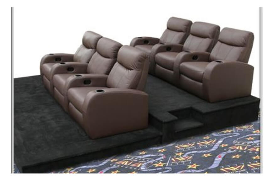Home Theater Seating | Be Seated Leather Furniture | Michigan
