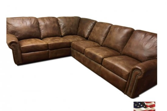 michigan's best selection of leather sectionals